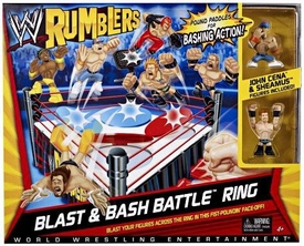 WWE Wrestling Rumblers Blast & Bash Battle Ring [John Cena & Sheamus]