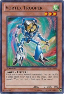 YuGiOh Battle Pack: Epic Dawn Single Card Common BP01-EN199 Vortex Trooper