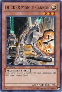 YuGiOh Battle Pack: Epic Dawn Single Card Common BP01-EN200 DUCKER Mobile Cannon
