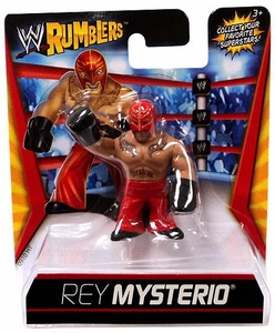 WWE Wrestling Rumblers Mini Figure Rey Mysterio [Red Mask & Pants]