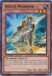 YuGiOh Battle Pack: Epic Dawn Single Card Common BP01-EN202 Shield Warrior