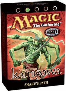 Magic the Gathering Champions of Kamigawa Theme Deck Snakes Path