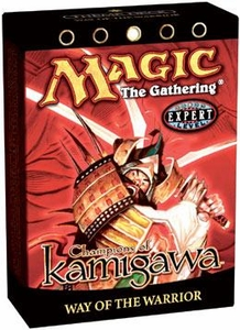 Magic the Gathering Champions of Kamigawa Theme Deck Way of the Warrior