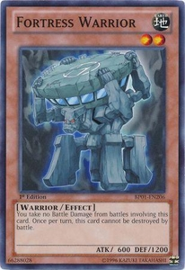YuGiOh Battle Pack: Epic Dawn Single Card Common BP01-EN206 Fortress Warrior