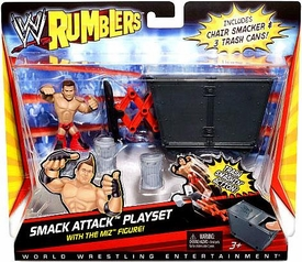 WWE Wrestling Rumblers Accessory Set Smack Attack Playset [The Miz Figure!]