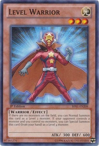 YuGiOh Battle Pack: Epic Dawn Single Card Common BP01-EN208 Level Warrior