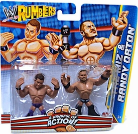 WWE Wrestling Rumblers Mini Figure 2-Pack The Miz & Randy Orton