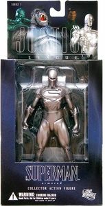 DC Direct Justice League Alex Ross Series 7 Action Figure Armored Superman