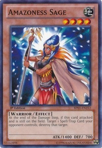YuGiOh Battle Pack: Epic Dawn Single Card Common BP01-EN212 Amazoness Sage