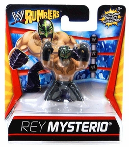 WWE Wrestling Rumblers Mini Figure Rey Mysterio [Black Mask & Pants]