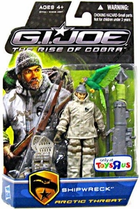 GI Joe Movie The Rise of Cobra 3 3/4 Inch Exclusive Action Figure Shipwreck [Arctic Threat]