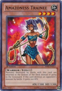 YuGiOh Battle Pack: Epic Dawn Single Card Common BP01-EN213 Amazoness Trainee