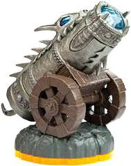Skylanders Giants LOOSE Figure Dragonfire Cannon
