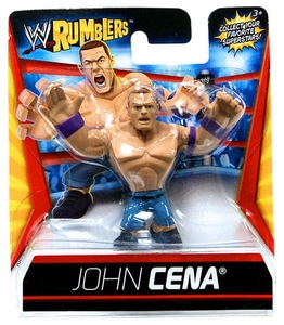 WWE Wrestling Rumblers Mini Figure John Cena [Purple Wristbands]
