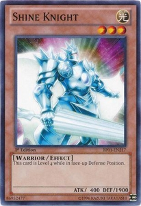 YuGiOh Battle Pack: Epic Dawn Single Card Common BP01-EN217 Shine Knight