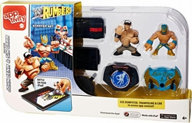 WWE Wrestling Rumblers Apptivity Starter Set [Exclusive John Cena & Sin Cara Figures!]