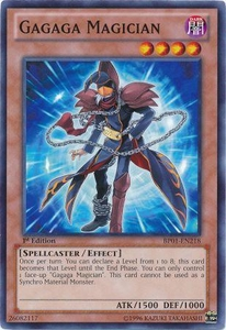 YuGiOh Battle Pack: Epic Dawn Single Card Common BP01-EN218 Gagaga Magician