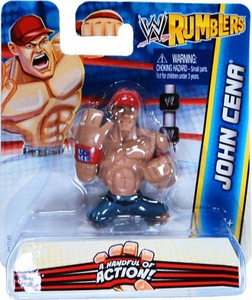 WWE Wrestling Rumblers Mini Figure John Cena [Orange Hat]