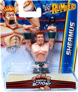 WWE Wrestling Rumblers Mini Figure Sheamus [Green Wristbands]