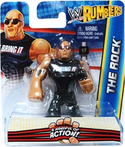 WWE Wrestling Rumblers Mini Figure The Rock