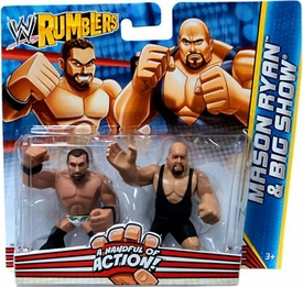 WWE Wrestling Rumblers Mini Figure 2-Pack Mason Ryan & Big Show