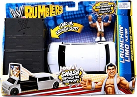 WWE Wrestling Rumblers Accessory Set Launchin' Limo Playset [Alberto Del Rio Figure]