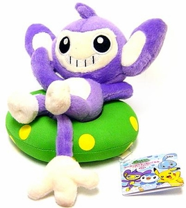 Pokemon Japanese Banpresto 5 Inch Beach Theme Plush Figure Aipom w/ Float