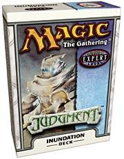 Magic the Gathering Judgment Theme Deck Inundation