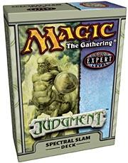 Magic the Gathering Judgment Theme Deck Spectral Slam