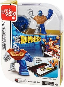 WWE Wrestling Rumblers Apptivity Single Rey Mysterio