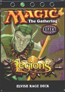 Magic the Gathering Legions Theme Deck Elvish Rage