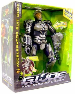 GI Joe The Rise of Cobra Ultimate Action Figure Accelerator Suit Duke BLOWOUT SALE!