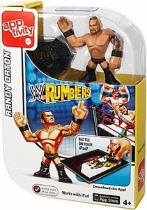 WWE Wrestling Rumblers Apptivity Single Randy Orton