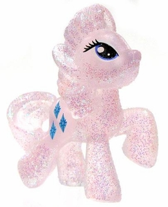 My Little Pony Friendship is Magic Exclusive 2 Inch PVC Figure Crystal Glitter Rarity
