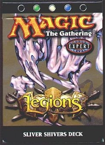Magic the Gathering Legions Theme Deck Sliver Shivers