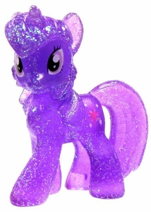 My Little Pony Friendship is Magic Exclusive 2 Inch PVC Figure Crystal Glitter Twilight Sparkle