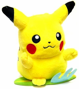 Pokemon Japanese Banpresto 5 Inch Beach Theme Plush Figure Pikachu [Standing on Surfboard]