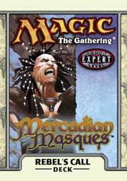 Magic the Gathering Mercadian Masques Theme Deck Rebel's Call