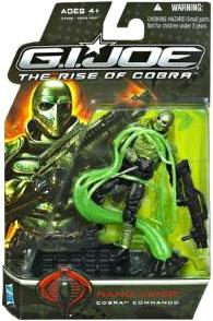 GI Joe Movie The Rise of Cobra 3 3/4 Inch Action Figure Nano Viper [Cobra Commando]