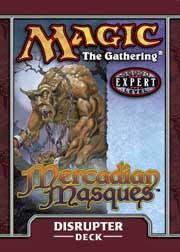 Magic the Gathering Mercadian Masques Theme Deck Disruptor