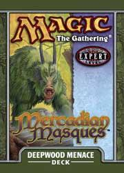 Magic the Gathering Mercadian Masques Theme Deck Deepwood Menace