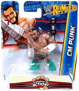WWE Wrestling Rumblers Mini Figure CM Punk