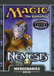 Magic the Gathering Nemesis Theme Deck Mercenaries