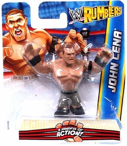 WWE Wrestling Rumblers Mini Figure John Cena [Black Wristbands]