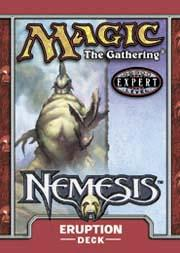 Magic the Gathering Nemesis Theme Deck Eruption
