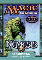 Magic the Gathering Nemesis Theme Deck Breakdown