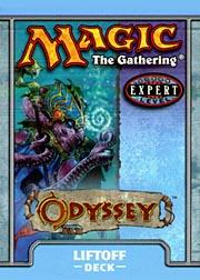 Magic the Gathering Odyssey Theme Deck Liftoff