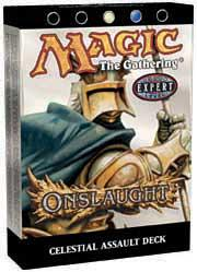 Magic the Gathering Onslaught Theme Deck Celestial Assault