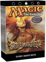 Magic the Gathering Onslaught Theme Deck Ivory Doom