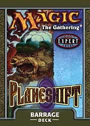 Magic the Gathering Planeshift Theme Deck Barrage
